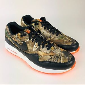 New Nike Air Max 1 G Golf Shoe Realtree Limited 10
